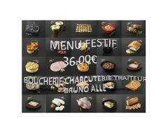 MENU FESTIF - 36.00€
