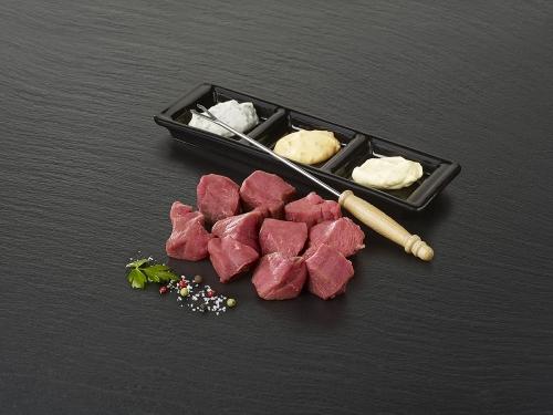 """Viande à fondue de boeuf """"Poire"""""""